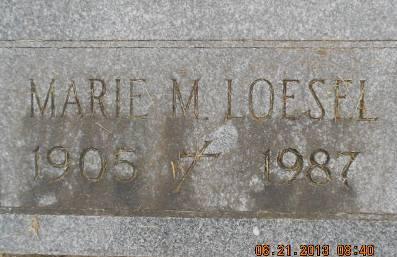 LOESEL, MARIE M. - Linn County, Iowa | MARIE M. LOESEL