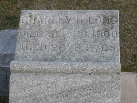 LONG, CHARLEY H. - Linn County, Iowa | CHARLEY H. LONG