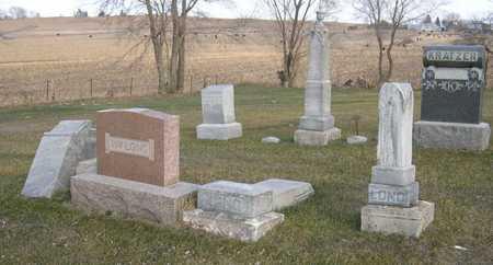 LONG, FAMILY PLOT - Linn County, Iowa   FAMILY PLOT LONG