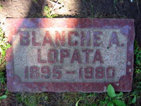 LOPATA, BLANCHE A. - Linn County, Iowa | BLANCHE A. LOPATA
