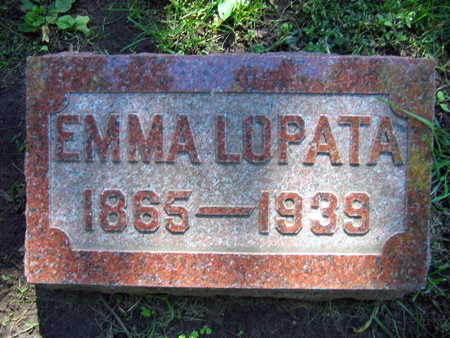 LOPATA, EMMA - Linn County, Iowa | EMMA LOPATA