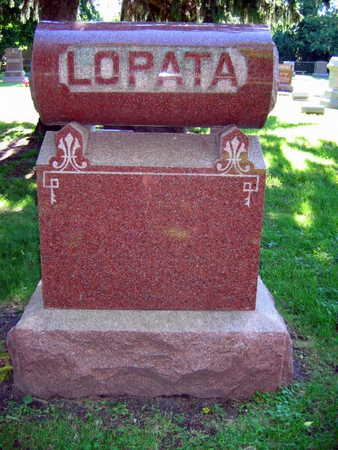 LOPATA, FAMILY STONE - Linn County, Iowa | FAMILY STONE LOPATA