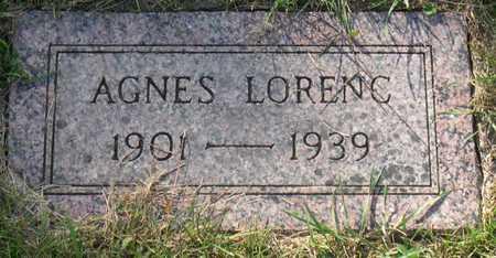 LORENC, AGNES - Linn County, Iowa | AGNES LORENC
