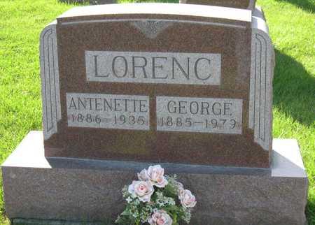 LORENC, ANTENETTE - Linn County, Iowa | ANTENETTE LORENC