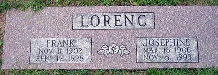 LORENC, FRANK - Linn County, Iowa | FRANK LORENC