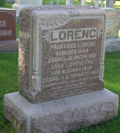 LORENC - LORENCOVA, ANNA - Linn County, Iowa | ANNA LORENC - LORENCOVA