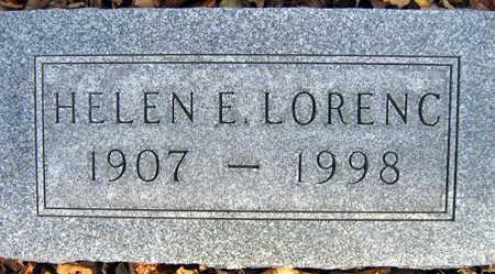 LORENC, HELEN E. - Linn County, Iowa | HELEN E. LORENC