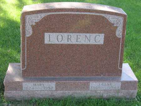 LORENC, MARY - Linn County, Iowa | MARY LORENC