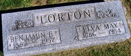 LORTON, BENJAMIN E. - Linn County, Iowa   BENJAMIN E. LORTON