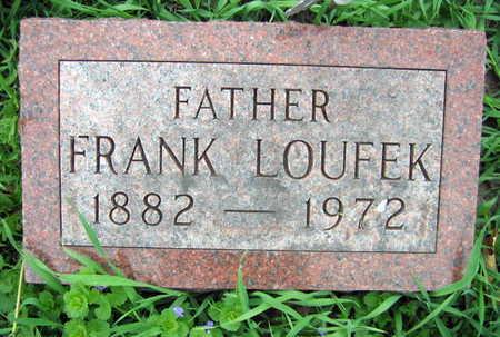 LOUFEK, FRANK - Linn County, Iowa | FRANK LOUFEK