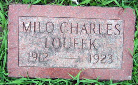 LOUFEK, MILO CHARLES - Linn County, Iowa | MILO CHARLES LOUFEK