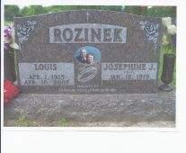 LOUIS, ROZINEK - Linn County, Iowa   ROZINEK LOUIS