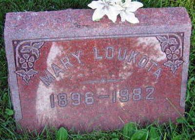LOUKOTA, MARY - Linn County, Iowa | MARY LOUKOTA