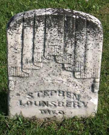 LOUNSBERY, STEPHEN - Linn County, Iowa | STEPHEN LOUNSBERY