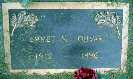 LOUVAR, EMMET M. - Linn County, Iowa | EMMET M. LOUVAR
