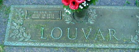 LOUVAR, FRANK W. - Linn County, Iowa | FRANK W. LOUVAR