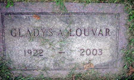 LOUVAR, GLADYS A. - Linn County, Iowa | GLADYS A. LOUVAR