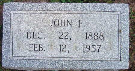 LOUVAR, JOHN F. - Linn County, Iowa | JOHN F. LOUVAR