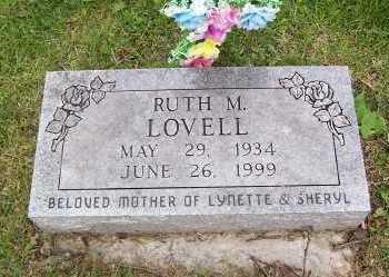 LOVELL, RITH M. - Linn County, Iowa | RITH M. LOVELL