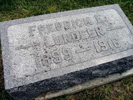LUNDEEN, FREDRICK E. - Linn County, Iowa   FREDRICK E. LUNDEEN