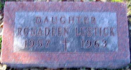 LUSTICK, RONADEEN - Linn County, Iowa | RONADEEN LUSTICK