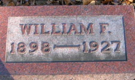 LUSTICK, WILLIAM F - Linn County, Iowa | WILLIAM F LUSTICK