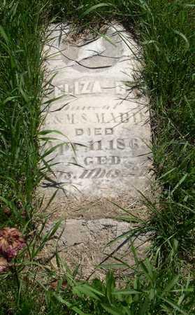 MABIE, ELIZA B. - Linn County, Iowa | ELIZA B. MABIE