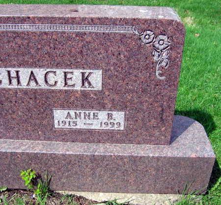 MACHACEK, ANNE B. - Linn County, Iowa | ANNE B. MACHACEK