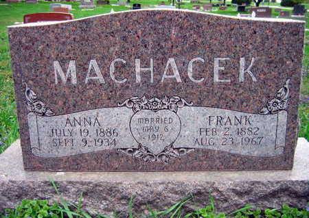 MACHACEK, FRANK - Linn County, Iowa | FRANK MACHACEK
