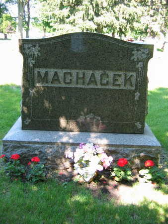 MACHACEK, FAMILY STONE - Linn County, Iowa | FAMILY STONE MACHACEK
