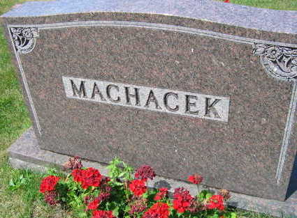 MACHACEK, FAMILY STONE - Linn County, Iowa | FAMILY STONE MACHACEK