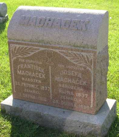 MACHACEK, FRANTISEK - Linn County, Iowa | FRANTISEK MACHACEK
