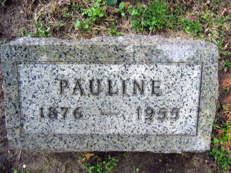MACHACEK, PAULINE - Linn County, Iowa | PAULINE MACHACEK
