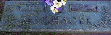 MACHACEK, MARY - Linn County, Iowa | MARY MACHACEK