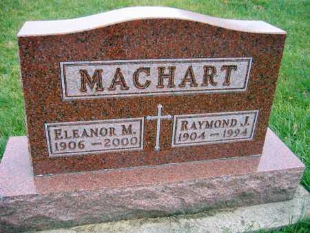 MACHART, ELEANOR M. - Linn County, Iowa   ELEANOR M. MACHART