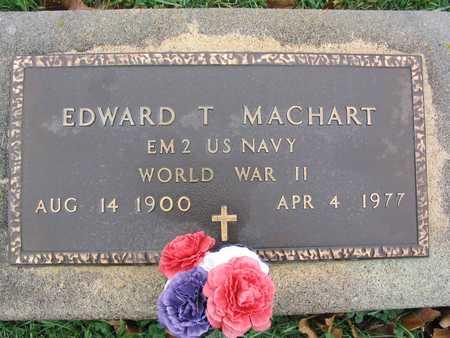 MACHART, EDWARD T. - Linn County, Iowa | EDWARD T. MACHART