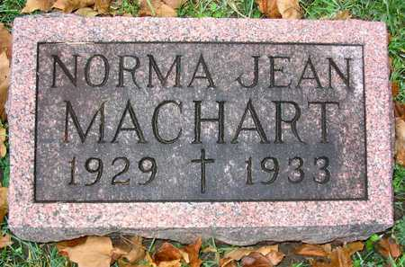 MACHART, NORMA JEAN - Linn County, Iowa | NORMA JEAN MACHART