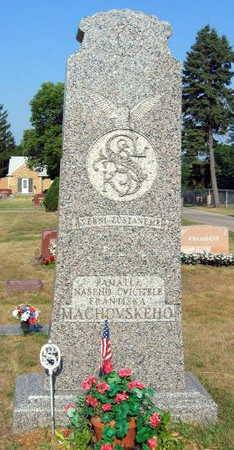MACHOVSKEHO, FAMILY STONE - Linn County, Iowa | FAMILY STONE MACHOVSKEHO