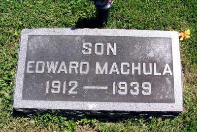 MACHULA, EDWARD - Linn County, Iowa | EDWARD MACHULA