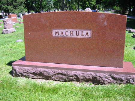 MACHULA, FAMILY STONE - Linn County, Iowa | FAMILY STONE MACHULA