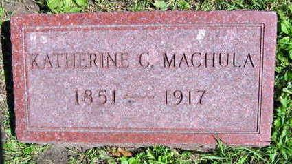 MACHULA, KATHERINE C. - Linn County, Iowa | KATHERINE C. MACHULA
