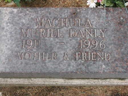 DANLY MACHULA, MURIEL - Linn County, Iowa | MURIEL DANLY MACHULA