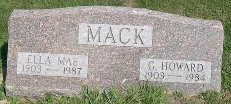 MACK, ELLA MAE - Linn County, Iowa | ELLA MAE MACK