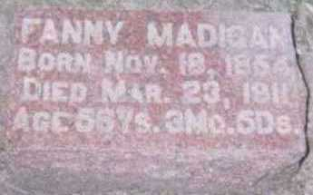 MADIGAN, FANNY - Linn County, Iowa | FANNY MADIGAN