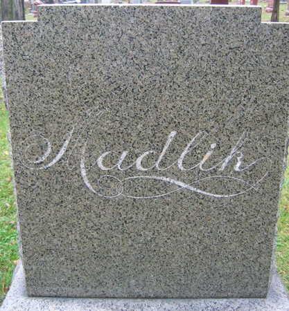 MADLIK, FAMILY STONE - Linn County, Iowa | FAMILY STONE MADLIK