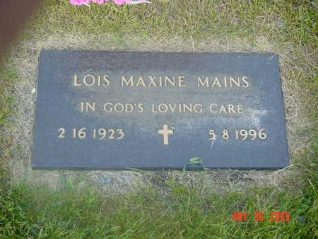FROST MAINS, LOIS - Linn County, Iowa | LOIS FROST MAINS