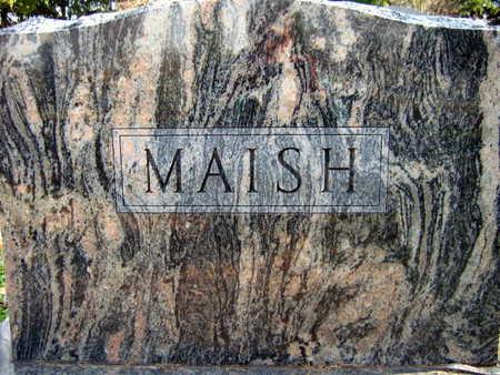 MAISH, FAMILY STONE - Linn County, Iowa | FAMILY STONE MAISH