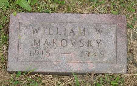 MAKOVSKY, WILLIAM W. - Linn County, Iowa | WILLIAM W. MAKOVSKY