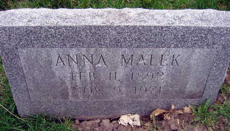 MALEK, ANNA - Linn County, Iowa | ANNA MALEK
