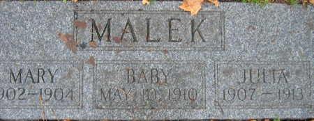 MALEK, JULIA - Linn County, Iowa | JULIA MALEK